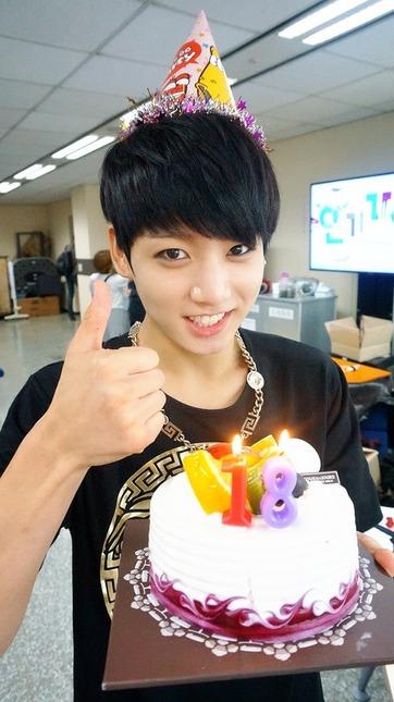 Jungkook's birthday