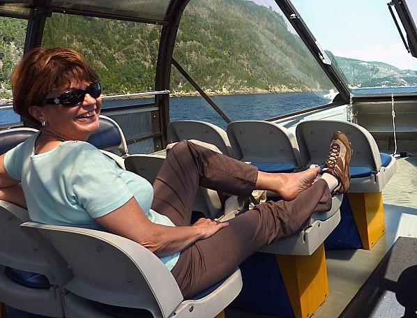 Croisière fjord Saguenay Martine