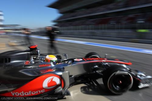 Hamilton : McLaren ne cherche pas le meilleur temps !