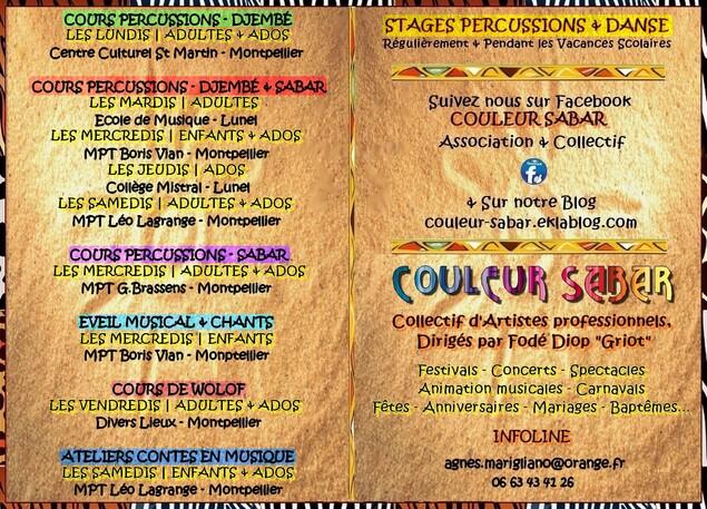 ★ Cours Percussions Adultes - Ados - Enfants