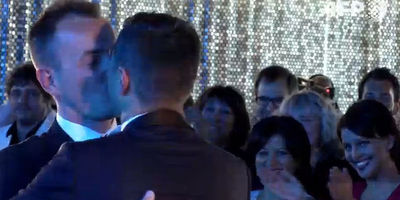 Premier mariage gay en France