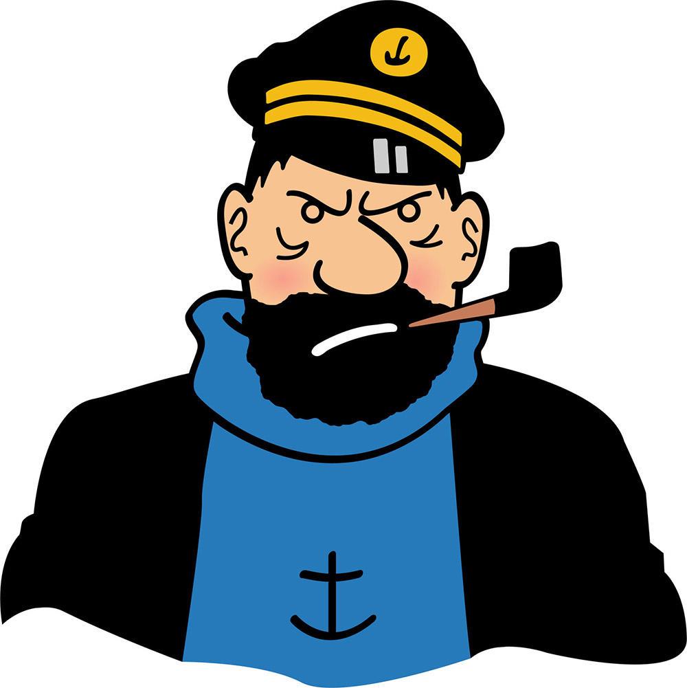 Mille sabords, le capitaine Haddock est vraiment increvable !