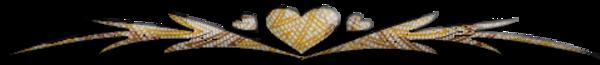 Barre de séparation  7 ( coeur )