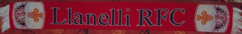 Echarpe Llanelli Scarlets 9 (Recto)