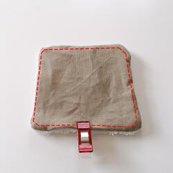 Tuto : Des lingettes lavables dans leur panier