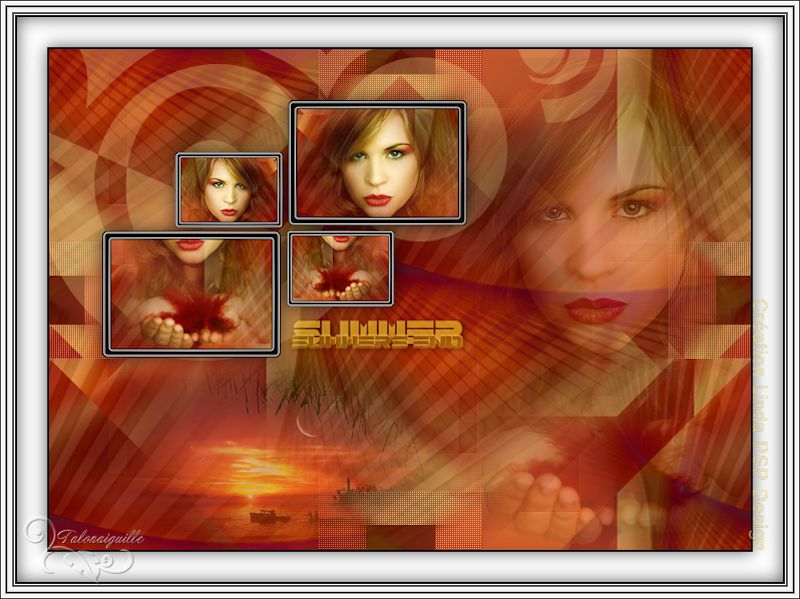 *** Summer's end - Linda PSP Design  ***