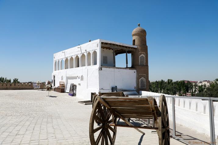 Intérieur de la citadelle Ark, Boukhara