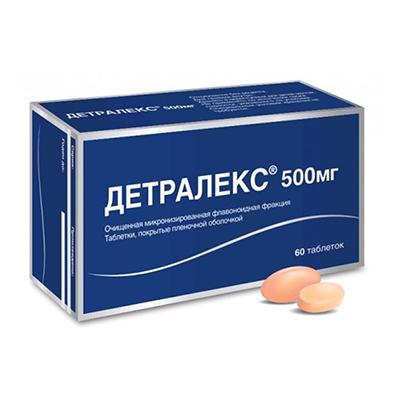 Троксевазин или детралекс что эффективнее при геморрое