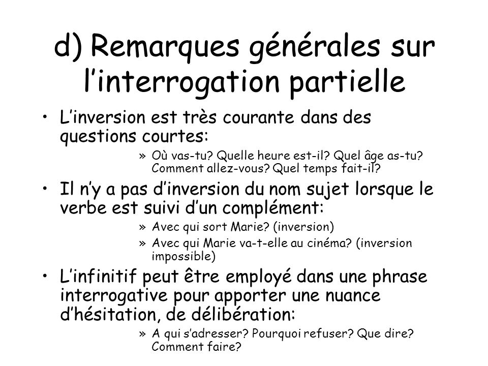 L INTERROGATION PARTIELLE EBOOK DOWNLOAD