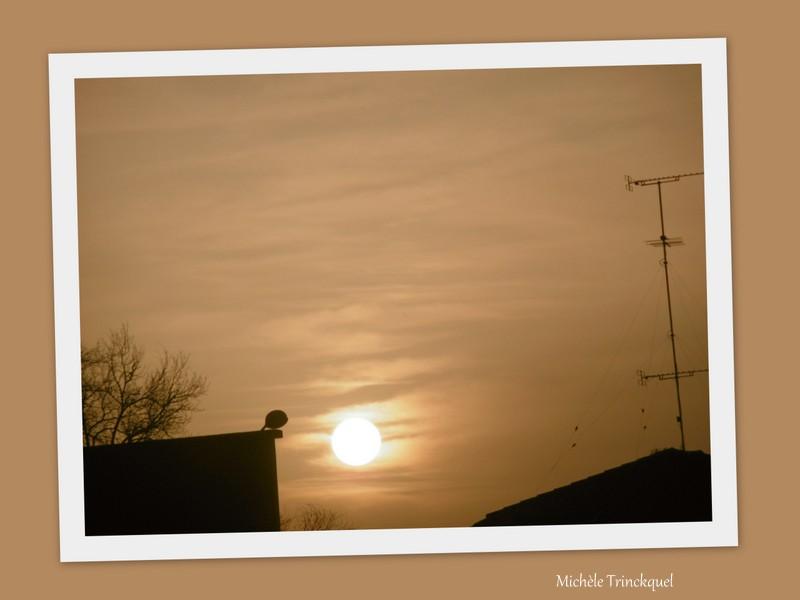 Le ciel au matin du 18 mars....