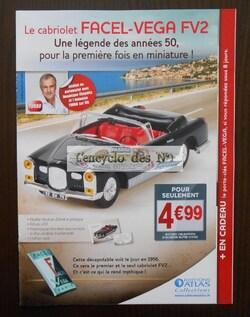 "Collection "" Mythiques cabriolets "" - Test"
