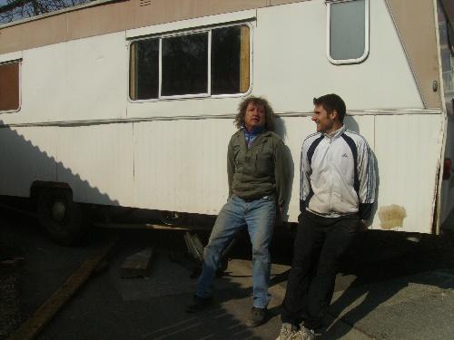 L'ENLEVEMENT DU MOBIL HOME (23 mars 2009...)