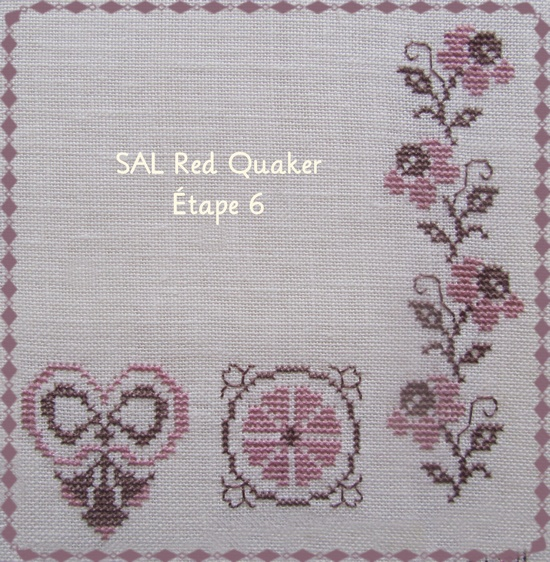 SAL Red Quaker étape 6
