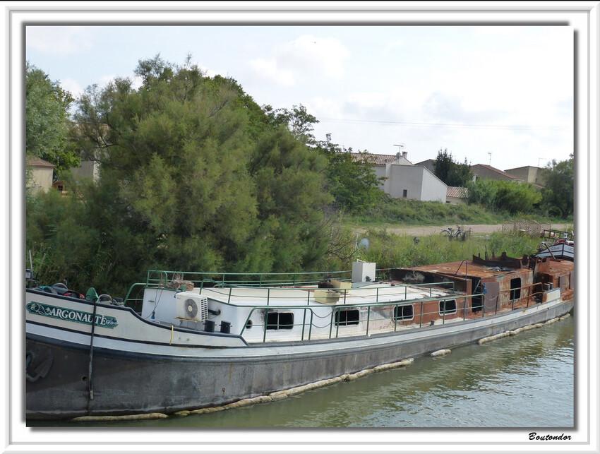 petit tour en bateau à Aigues-Mortes