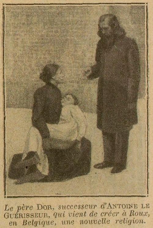 Un nouveau prophète au pays noir - Illustration (Excelsior, 13 janvier 1913)
