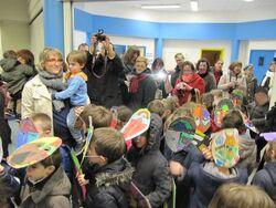 C'est carnaval à l'école