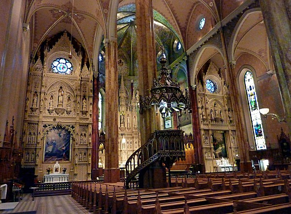 Montréal Basilique St Patrick Intérieur