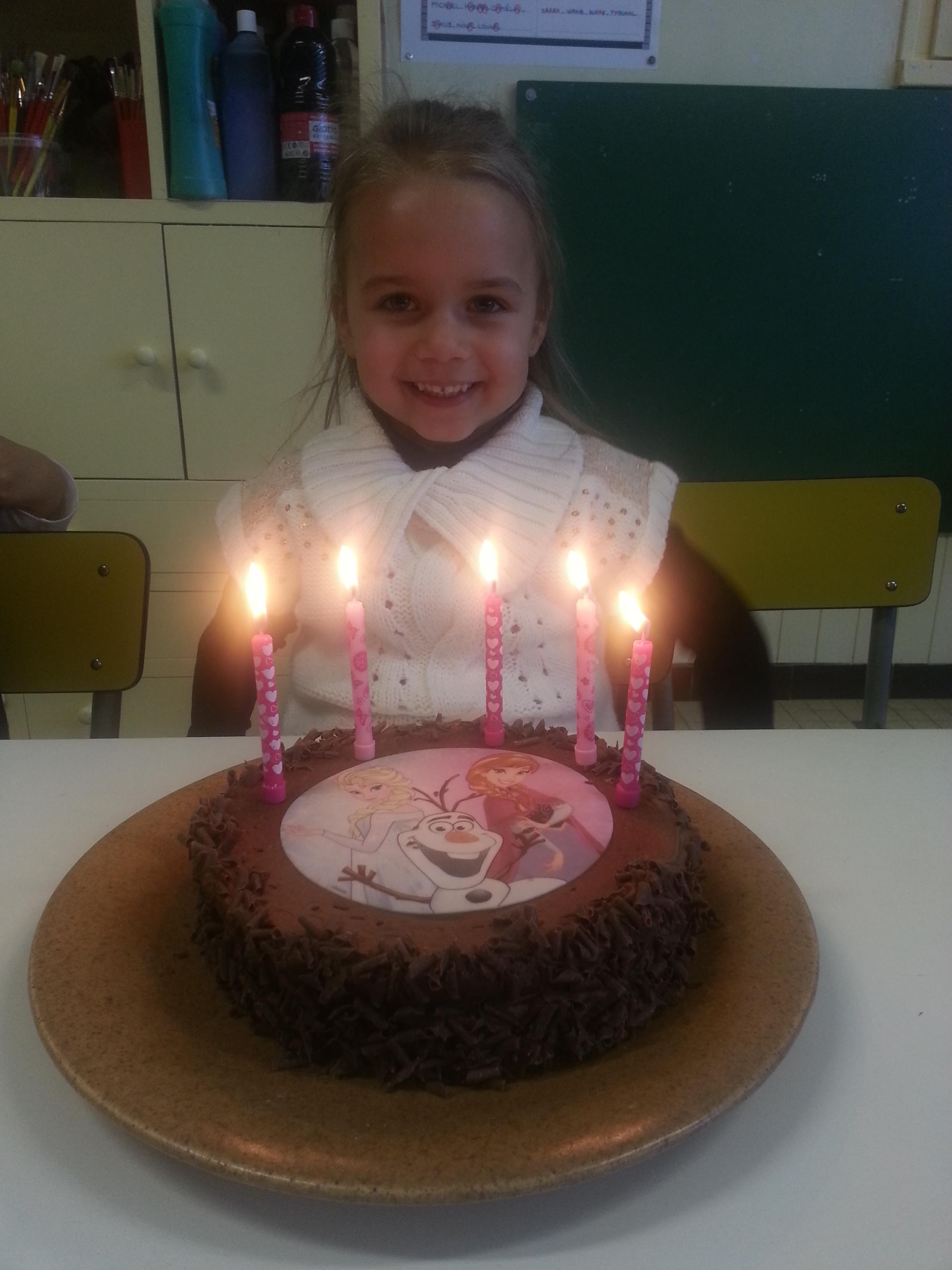 Joyeux Anniversaire Nina Blog De La Maternelle Cassenel