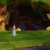 Odette à la porte de la forêt enchantée