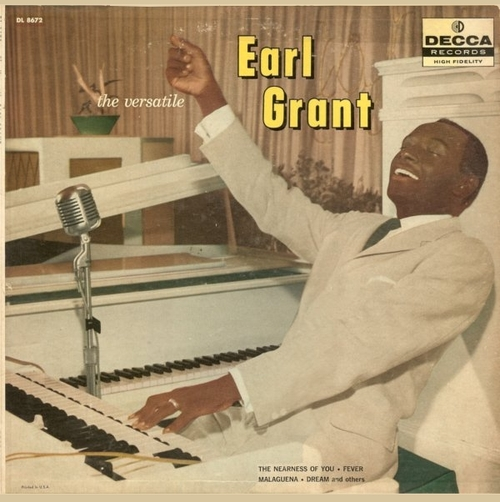 "Earl Grant : Album "" The Versatile Earl Grant "" Decca Records DL 8672 [ US ]"