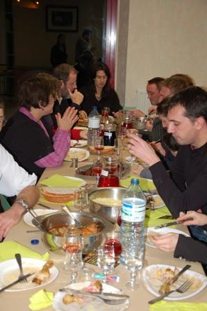 Soirée couscous du 12 déc. 2009