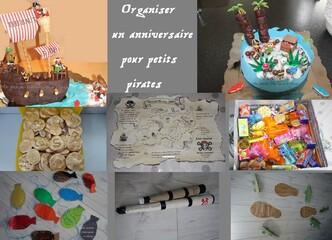 Anniversaire sur le thème des pirates