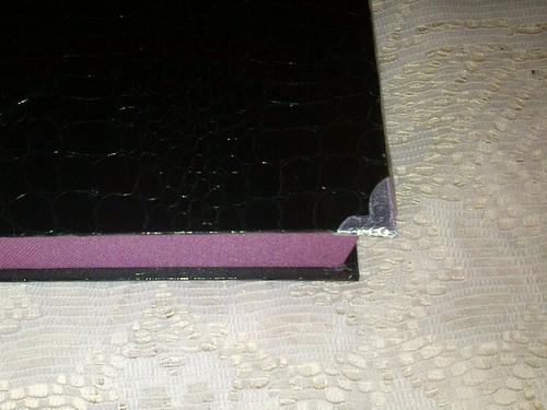 Cartonnage - Plumier rectangulaire