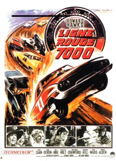 LIGNE ROUGE 7000 - BOX OFFICE 1966
