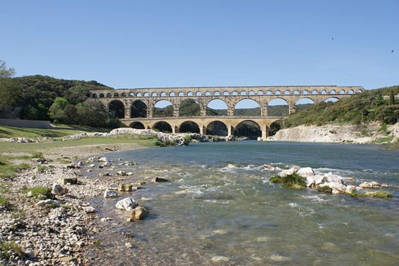 Le pont du Gard (une belle idée de week-end)