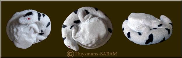 Sculpture animalière en marbre: Lézard Curieux - Arts et sculpture: sculpteur sur pierre