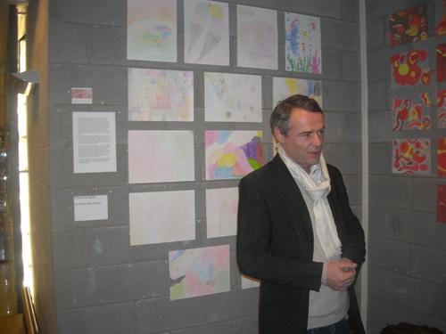 """Vernissage de l'exposition """"Gouttes de peinture"""""""