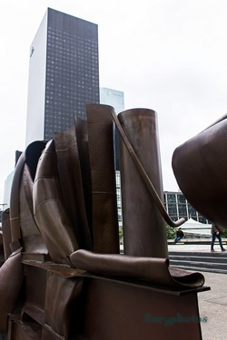 Sculpture d'Anthony Caro