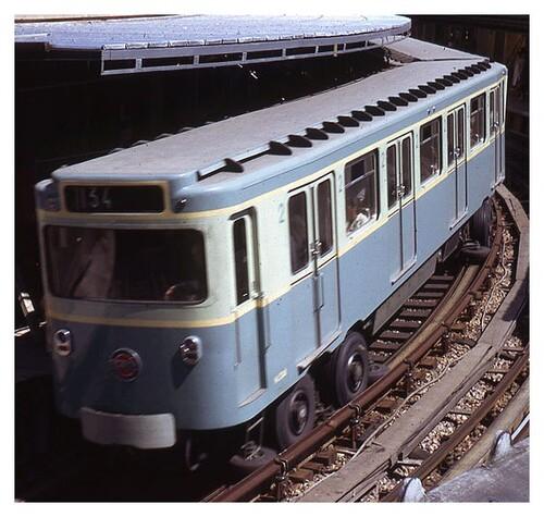 Le métro sur pneus - 1956