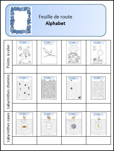 Alphabet L école De Julie