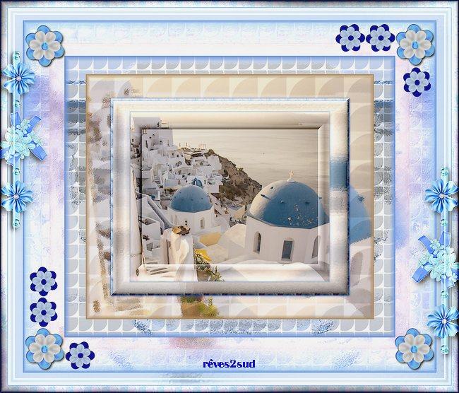 Un rêve de Santorin