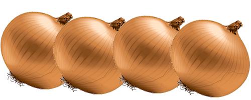 Recette de Cuisine : Oignons farcis