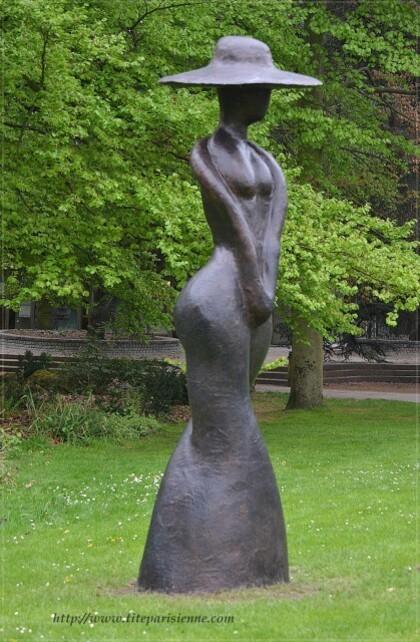 Exposition de sculptures Parc Floral 2