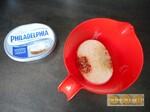 Makis de jambon cru, fromage frais et ciboulette