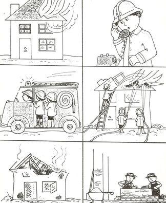 """Fiches """"Un jour chez les pompiers"""""""