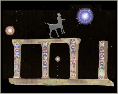 L'ennui du Centaure . Sur une idée de Joel Georges .
