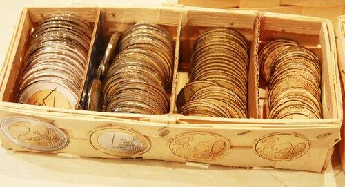Les pièces de monnaie Euros