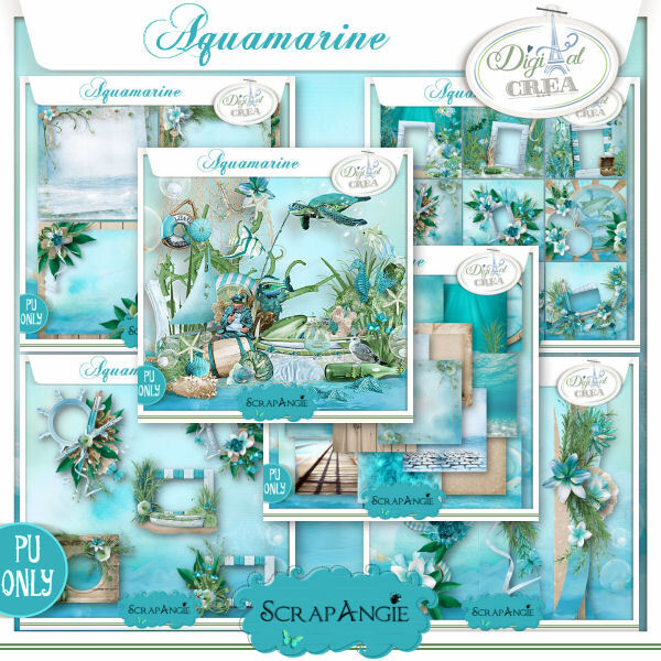 Aquamarine bundle