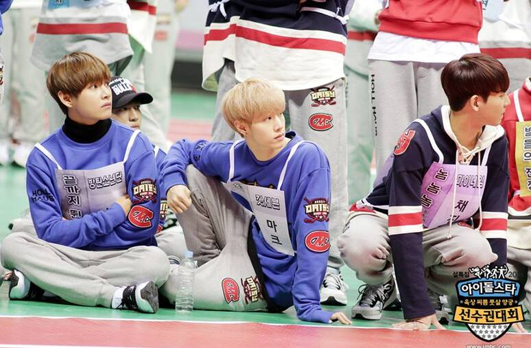 18/01/2016 MBC Idol Star Athletics Championship BTS Partie 1