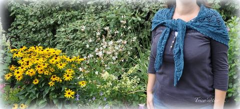 Foulard de soie - Eclat du Soleil