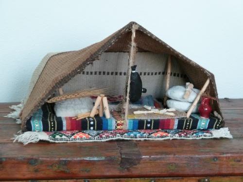 Tente berbère en miniature