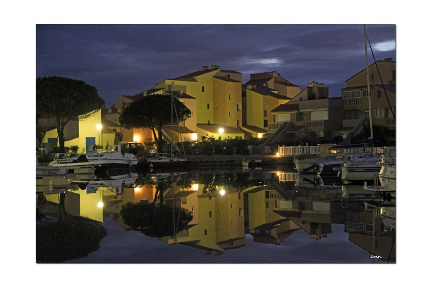 Barcares by night (Reflets)