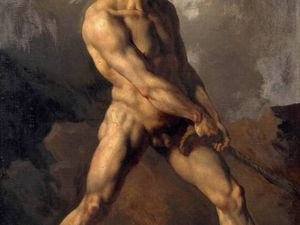 peintre italien, Roberto Ferri,