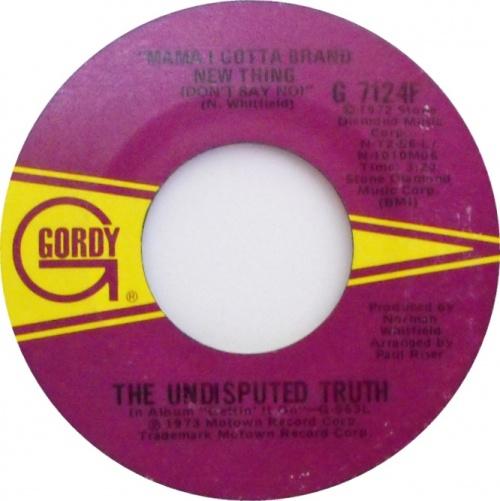 1973 : Single SP Gordy Records G 7124F [ US ]