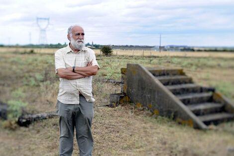 Jacques Sigot, le premier à avoir découvert le camp d'internement de Tsiganes de Montreuil-Bellay
