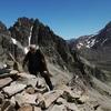 Arrivée au sommet du pico de Lavaza Oriental (2764 m)